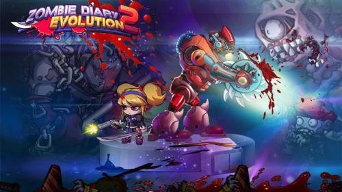 เกมส์ Zombie Diary Evolution 2
