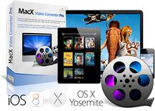 MacX Video Converter Pro (โปรแกรม MacX Video แปลงไฟล์วีดีโอบนเครื่อง Mac) :