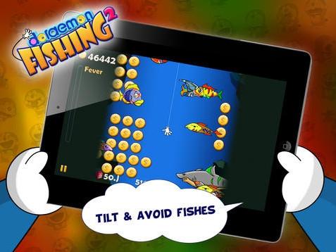 เกมส์ตกปลา Doraemon Fishing 2