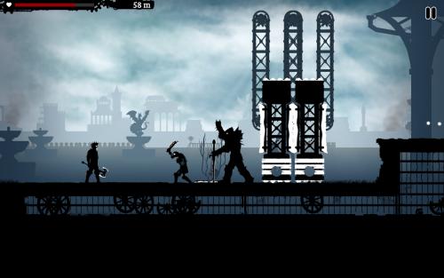 App เกมส์ฟันศัตรู Dark Lands