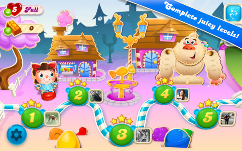 เกมส์ Candy Crush Soda Saga