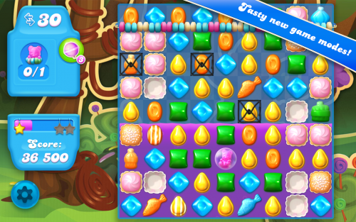 Candy Crush Soda Saga (App เกมส์ Candy Crush Soda Saga) :