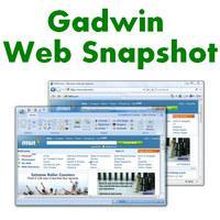 Gadwin Web Snapshot (ช่วยจับภาพจับเว็บแบบง่ายๆ)