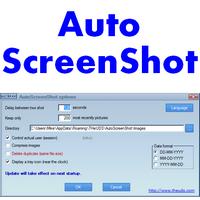 AutoScreenShot (โปรแกรมจับภาพหน้าจอฟรี)