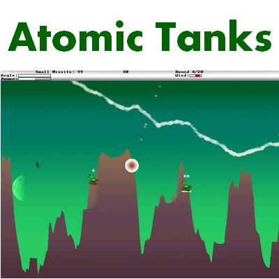 Atomic Tanks (เกมส์ Atomic Tanks  รถถังประจัญบาน) :