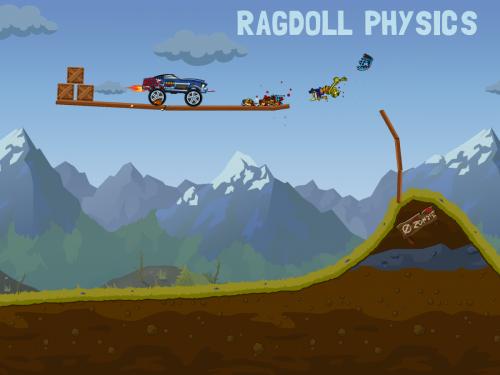 เกมส์ขับรถยิงซอมบี้ Zombie Road Trip Trials