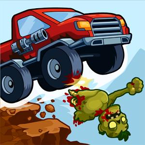 Zombie Road Trip Trials (App เกมส์ขับรถยิงซอมบี้) :