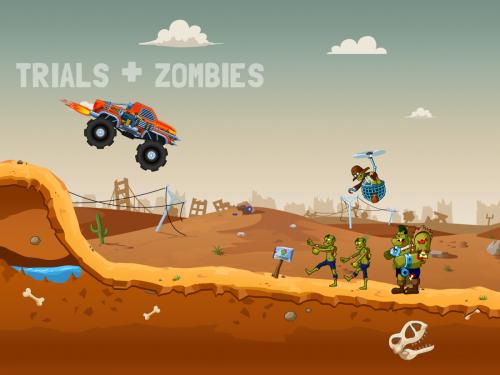 โหลดแอพ Zombie Road Trip Trials