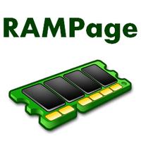 RAMpage (โปรแกรม RAMpage ตรวจสอบหน่วยความจำ เมมโมรี่ ฟรี) :