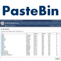 Pastebin Desktop (โปรแกรมจัดการ Clipboard ออนไลน์) :