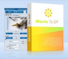 Movie to GIF (โปรแกรมแปลงวีดีโอ เป็นภาพเคลื่อนไหว GIF) :