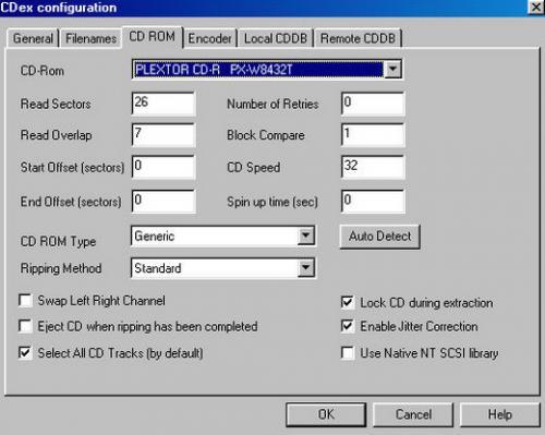 ดาวน์โหลดโปรแกรม CDex