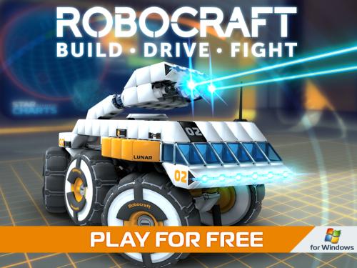 โหลดเกมส์ Robocraft