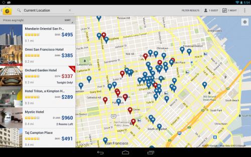 App บุ้คกิ้งโรงแรม Expedia Hotels Flights