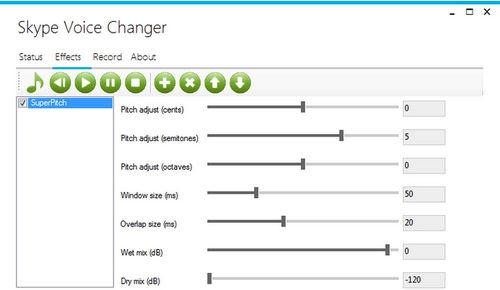โปรแกรมเปลี่ยนเสียงสไกป์ Skype Voice Changer