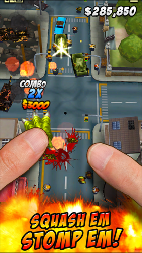 ThumbZilla (App เกมส์ ThumbZilla) :