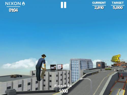 App เกมส์สเก็ตบอร์ดป่วนเมือง
