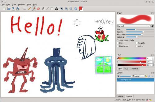 โปรแกรมวาดรูป DrawPile