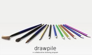 Drawpile (โปรแกรม Drawpile วาดรูปพร้อมกันหลายคน) :