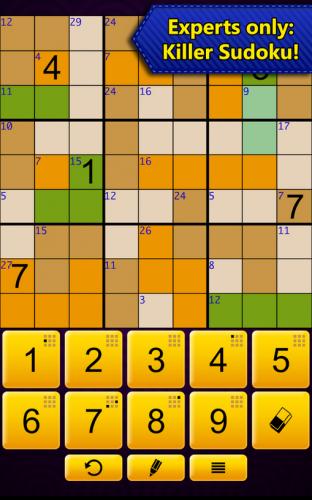 Sudoku Epic (App เกมส์ซูโดกุ ปริศนาเลข ทายคำ) :