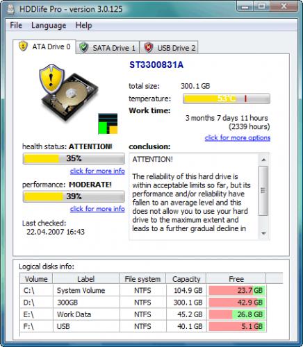 ดาวน์โหลดโปรแกรม HDDlife