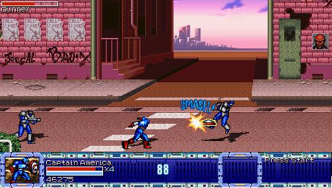 เกมส์ต่อสู้ Avengers United Battle Force
