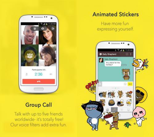 App แชทข้อความ KakaoTalk