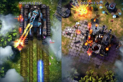 App เกมส์ยิงอวกาศSky Force 2014