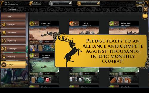 Game of Thrones Ascent (App เกมส์ศึกชิงบัลลังค์) :