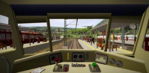 เกมส์รถไฟ 3D Train Studio