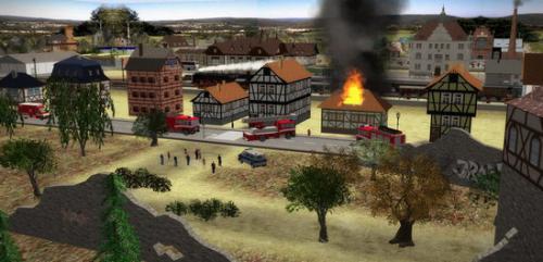 เกมส์สร้างเมืองจำลอง 3D Train Studio