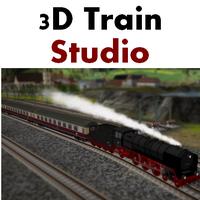 3D Train Studio (เกมส์สร้างทางรถไฟ 3 มิติ บน PC วิ่งได้จริงๆ บนเมือง) :