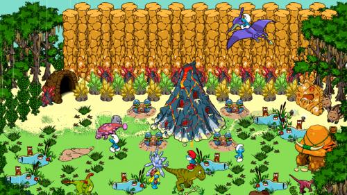 เกมส์สร้างบ้านสเมิร์ฟ Smurfs Village