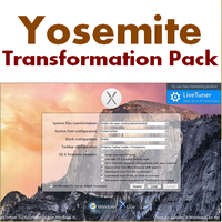 Yosemite Transformation Pack (เปลี่ยนธีม Windows เป็น Mac OS X Yosemite)