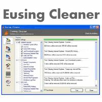 Eusing Cleaner (โปรแกรมลบไฟล์ขยะ ป้องกันไวรัส)