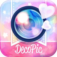 DECOPIC Kawaii PhotoEditing (App แต่งรูปสวยใส ไร้มิติ)