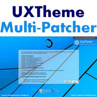 UXTheme Multi-Patcher (โปรแกรมปรับแต่งธีม Windows ฟรี)