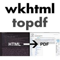 wkhtmltopdf (โปรแกรมแปลงเว็บเพจ เป็น PDF แบบพิมพ์คำสั่งเอง)