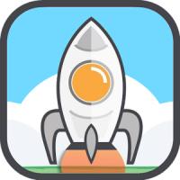 Up Up Rocket (App เกมส์ส่งจรวดขึ้นฟ้า)