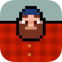 Timberman (App เกมส์ตัดต้นไม้)