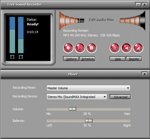 All Free Sound Recorder :