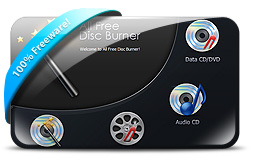 โปรแกรมเขียนแผ่น All Free Disc Burner
