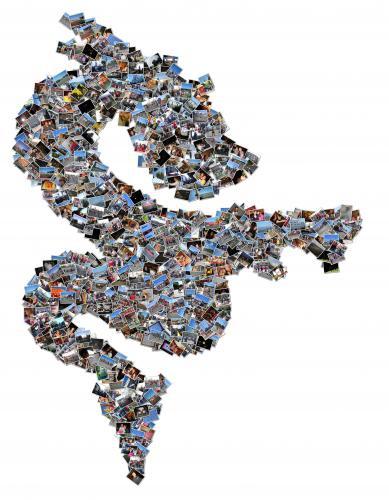ดาวน์โหลดโปรแกรม Shape Collage