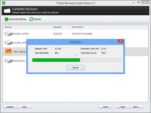 7-Data Recovery Free (โปรแกรมกู้ข้อมูลทั้ง PC และ Android) :