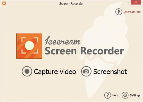 โปรแกรมอัดวีดีโอ Icecream Screen Recorder