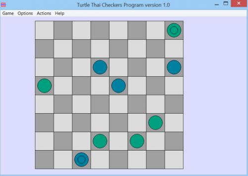ดาวน์โหลดเกมส์ Turtle Thai Checkers
