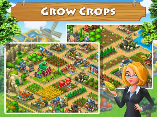 Township (App เกมส์ทำสวนบ้านไร่หรรษา Township) :