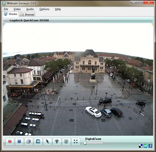 โปรแกรมกล้องวงจรปิด Webcam Surveyor