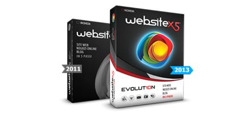 WebSite X5 Evolution (โปรแกรม WebSite X5 สร้างเว็บเพจ) :
