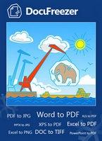 DocuFreezer (โปรแกรม DocuFreezer แปลงไฟล์เอกสารต่างๆ ฟรี) :